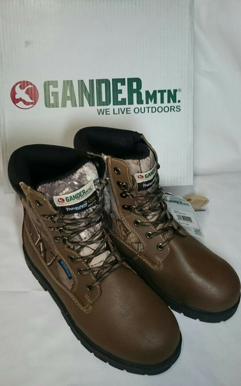 Gander  Open Season Hunting Upshot boots thin-te 400gr  Waterproof Men's Size 10  ultra-low prices