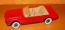Modellauto hot wheels mustang 65 1983 rot