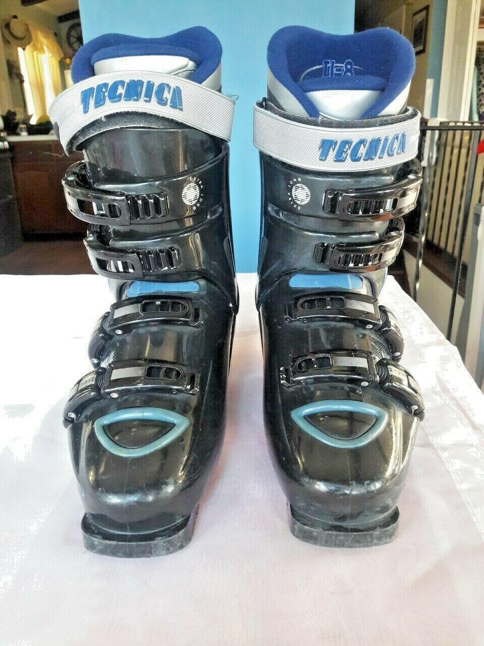 Tecnica ti - 8 innocenec, botas de esquí, talla 7.5.Made in Italia
