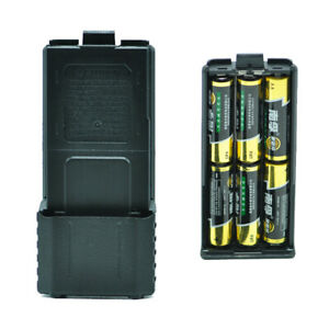 1X-For-Baofeng-UV-5R-6xAA-Battery-Case-Walkie-Talkie-Battery-Shell-for-PorL3J9