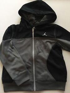 ed328a02fa52 Nike Air Jordan Boys Zip-Up Jacket Sweatshirt Size 4 6 6-7 years ...
