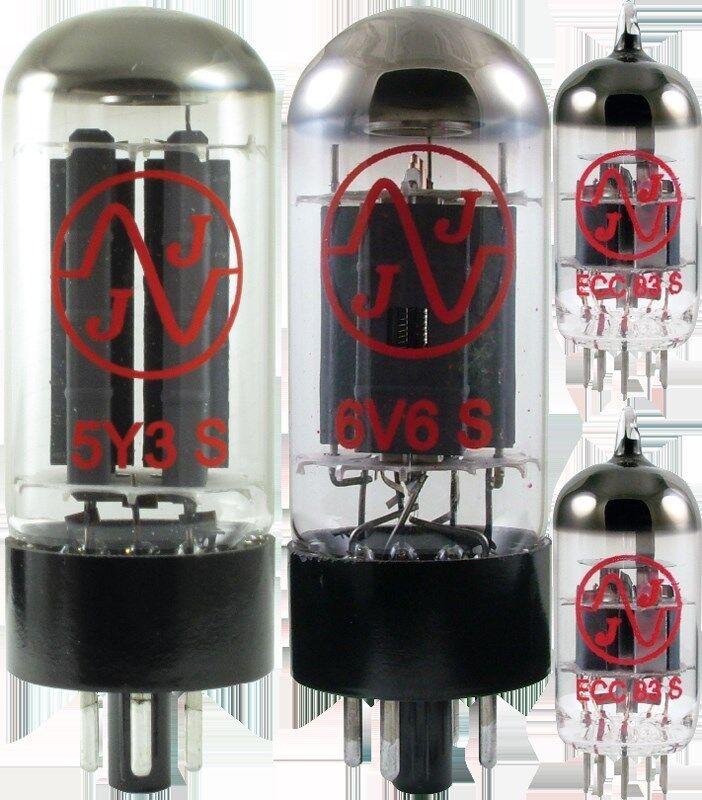 Tube Set - for Fender Vibro Champ JJ Electronics APEX Matched Power Tubes