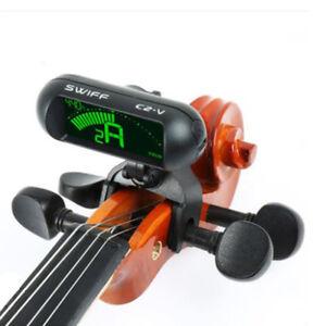 SWIFF-Digital-Chromatic-Guitar-Bass-Violin-Ukulele-Tuner-C2-V-Pro-Violin-Tuner