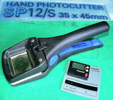 PASSFOTO POLAROID HAND PHOTOCUTTER SP12/S 35x45mm + FILM TIMER STUDIO CAMERA BND