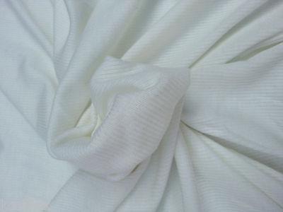 Ivory Tencel Spandex 3x3 Rib Sweater Knit Fabric by Yard Cashemere Feel 9/18/14