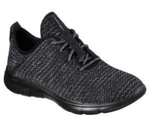 Move Trainers bold Appeal Sneakers Women 0 2 Flex Walking Black Skechers New wWOvAUW