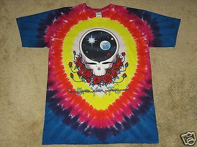 Grateful Dead Space Your Face Manufacture Defect 5X-Large Tie Dye T-Shirt LB
