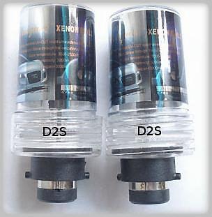 HID Xenon 2 Bulbs Set D2S 6000K Honda S2000 2000