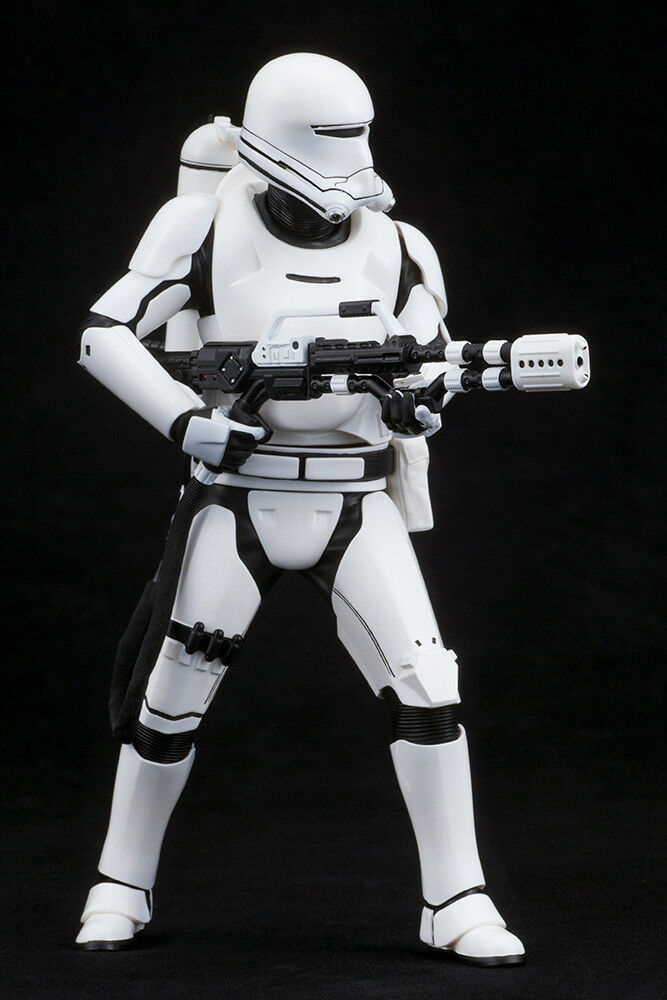 Star Wars Episode VII First Order Order Order Snow Trooper & Flametrooper 1/10 PVC Statue b6eae0