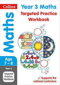Year 3 Maths Targeted Practice Workbook (Collins KS2 Revision and Practice) by Collins KS2 (Paperback, 2017)