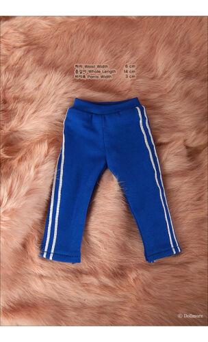 Felix Pants 1//6 BJD YoSD elasticity sports wear dollmore Dear Doll Size Blue