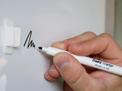 Whiteboardfolie Eisenfolie beschreibbar selbstklebend weiß 0,6mm x 50 x 100cm