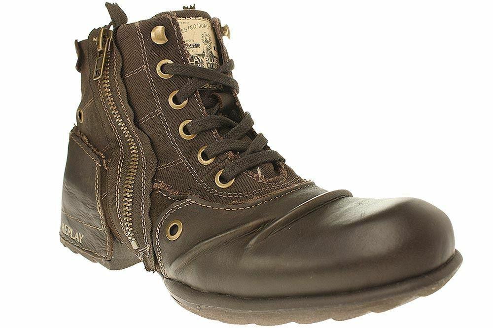 Replay CLUTCH - Herren Schuhe Turnschuhe Stiefel Stiefelette - RU010003L - 018    | Bestellung willkommen