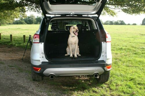To fit NISSAN JUKE MICRA DOG PET GUARD BARRIER RUBBER BOOT MAT 2 PIECE
