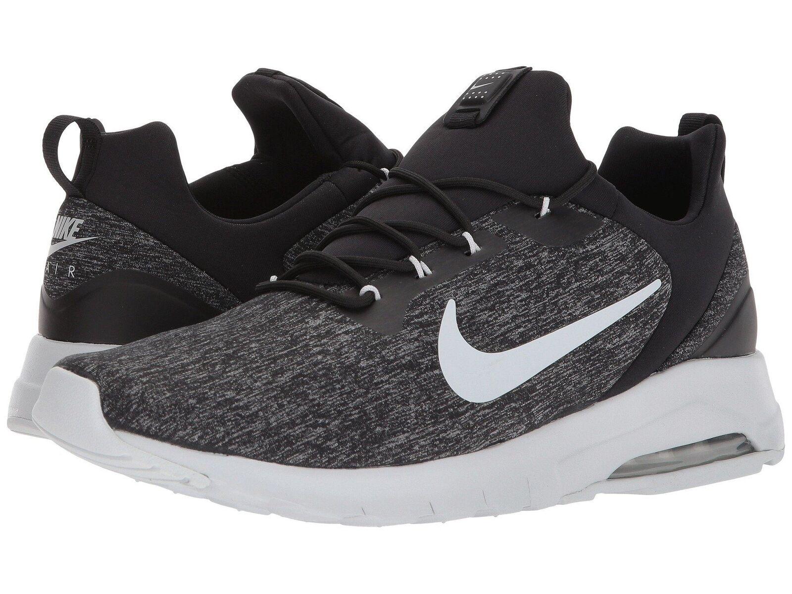 Nike air max moto racer nero di puro platino scarpe da uomo 916771004