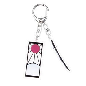 Demon-Slayer-Anime-Star-Acrylic-Keychain-Transparent-Pendant-Lssed