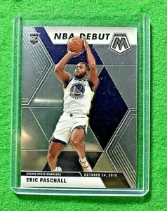 ERIC-PASCHALL-MOSAIC-SILVER-CHROME-ROOKIE-JERSEY-23-WARRIORS-2019-20-MOSAIC-RC