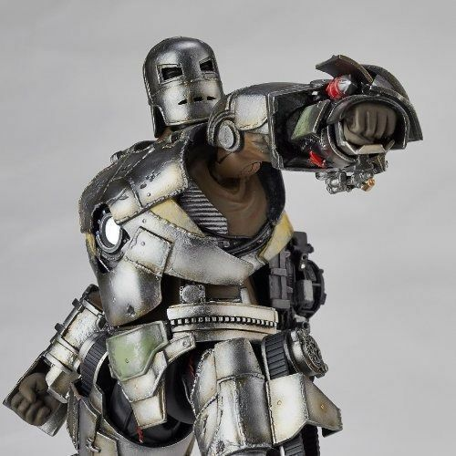 Tokusatsu Figure Revoltech No.045 Iron Man IRON MAN MARK I Figure Tokusatsu KAIYODO NEW 646882