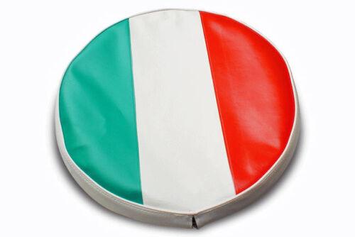 Lambretta /& vespa Italian Flag Spare Wheel Cover