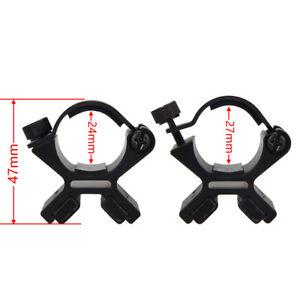 Tactical-X-Forma-Linterna-magnetica-fuerte-montaje-montaje-de-barril-alcance-Pistola-Soplete-K