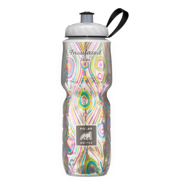 Polar Bottle 24oz Insulated Water Drink Bottle - BPA FREE - ROYAL PEACOCK 0009