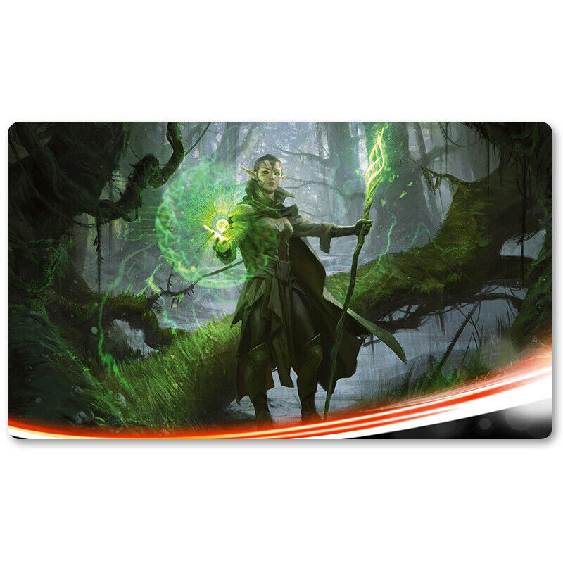 Nissa Sage Animist - Board Game MTG Playmat Games Mouse