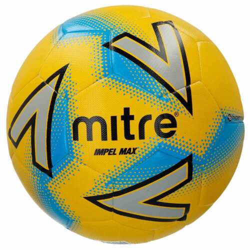 10 x Mitre Impel Max Training Football with a Lusum Mesh Bag