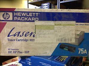 Hp no 75a black toner cartridge 92275a for 92275a