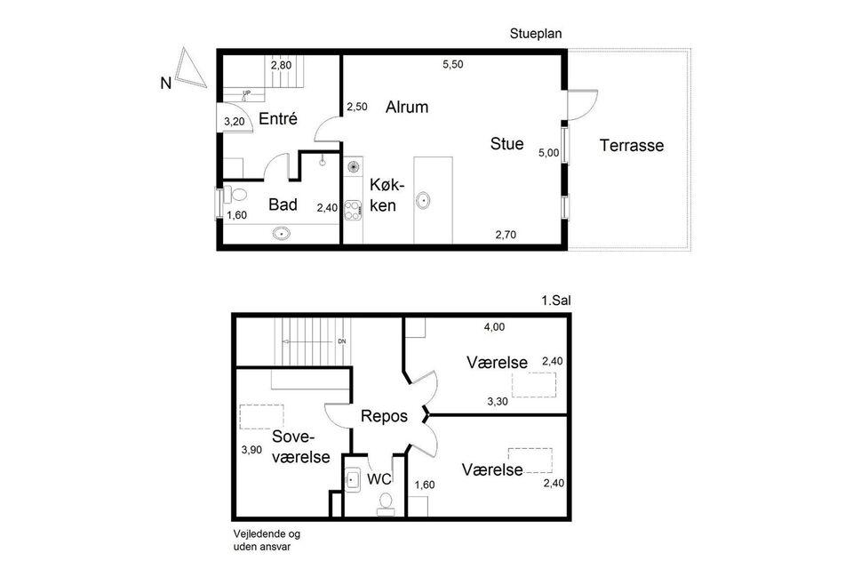 8541 vær. 4 lejlighed, m2 90, Vosnæsparken