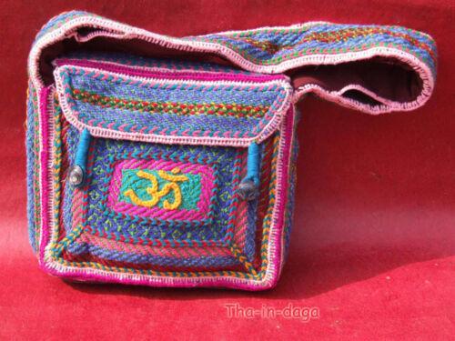 Unique Sadhu Indien Artisanat Saddhu 7 Boheme Sac 24x22x5cm Pièce Sac Baba nfXXqSF8