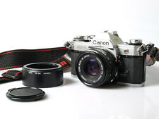 Canon AE-1 w/ 50mm f1/8 SC with hood/strap/cap *STUDENT CAMERA SET*