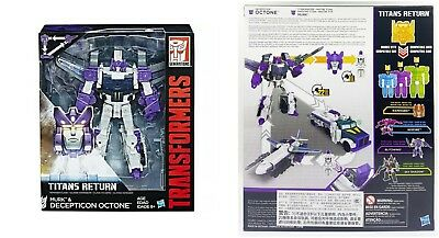 Transformers Titans Return Voyager Class MURK/&DECEPTICON OCTONE Robots Kids