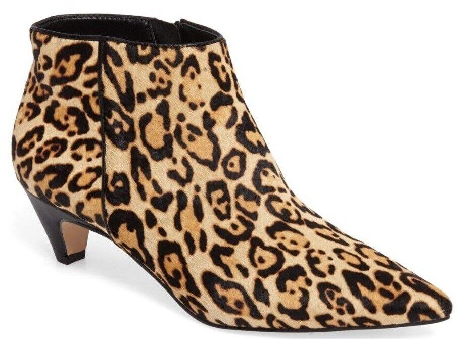 NIB Splendid Dante II Genuine Calf Bootie Hair Pointy Toe Bootie Calf  Leopard Sz 6 1f4da8