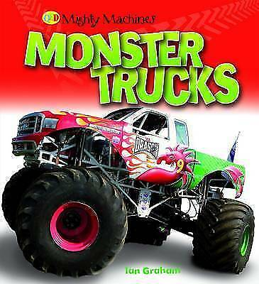 Monster Trucks (Mighty Machines)-ExLibrary
