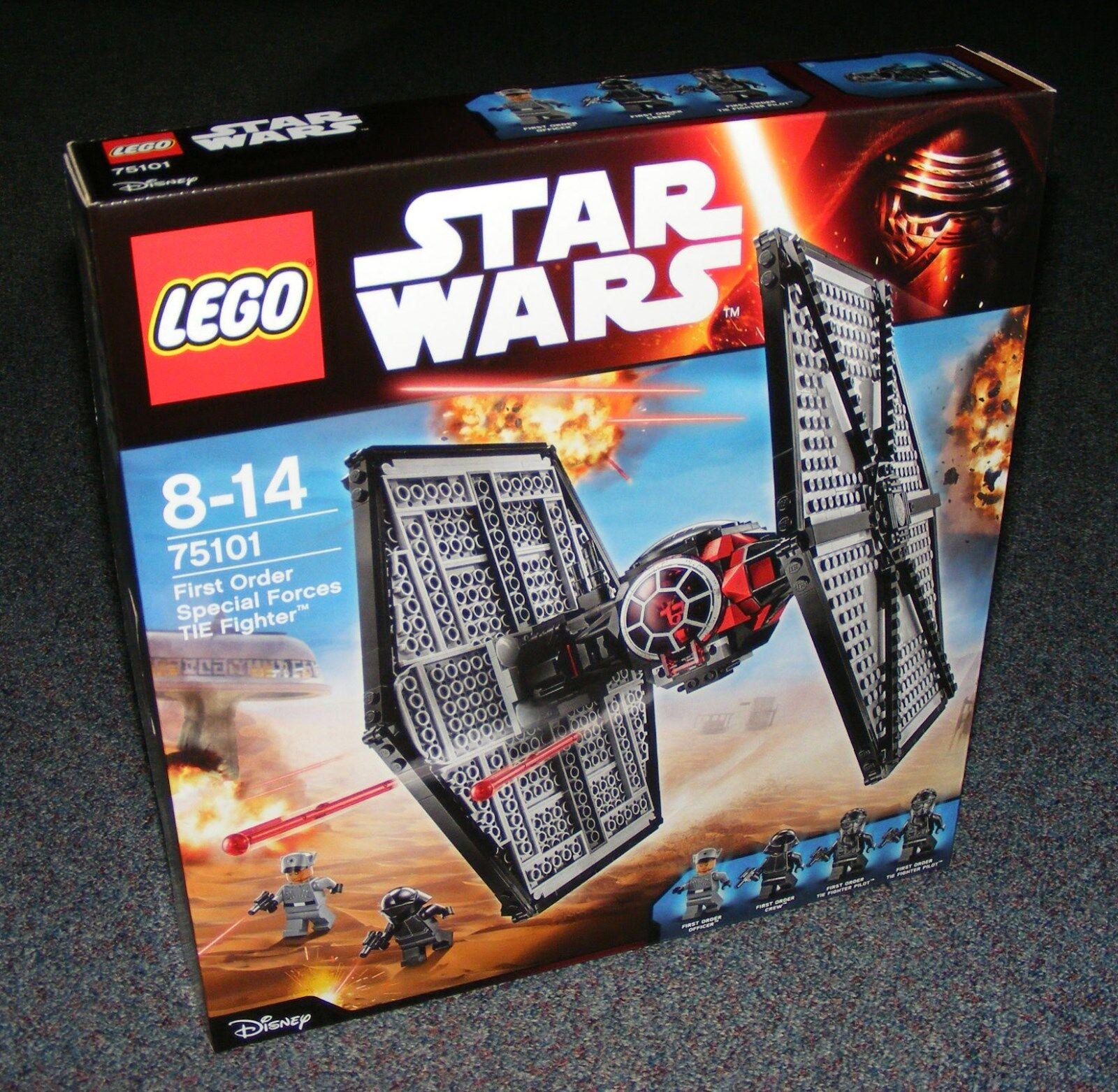STAR WARS LEGO 75101 FIRST ORDER TIE FIGHTER BRAND NEW SEALED BNIB