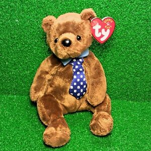 5998aacbf3a MWMT Ty Beanie Baby HERO The Father Bear Retired Plush Toy USA Theme ...