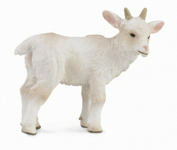 Collecta 88786 Goat Kid Standing Miniature Animal Figure Toy