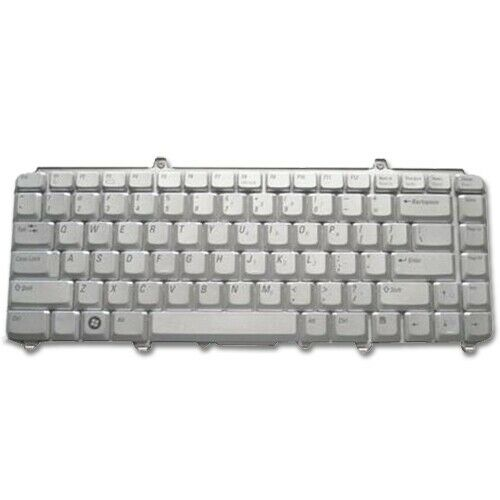 Dell XPS M1530 Genuine Laptop US Silver Keyboard NK750