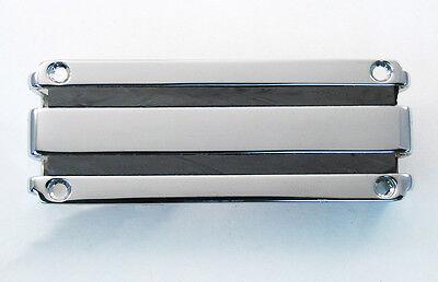black anodized Lace Aluma Deathbar 4.0 8 /& 9 String Humbucker Pickup