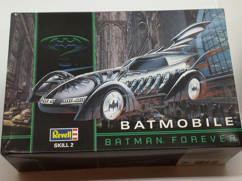 Revell - Batman model Forever Batmobile official 1/25  Plastic model Batman kit 67259d