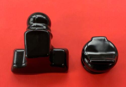 TowBall PVC Gloss Black Full Cover Protector /& 1 x 13 or 7 Pin PVC Socket Cover