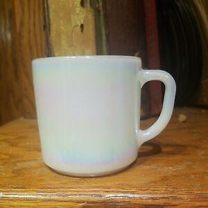 1960's Federal Irridescent Multi-Color Coffee Mug