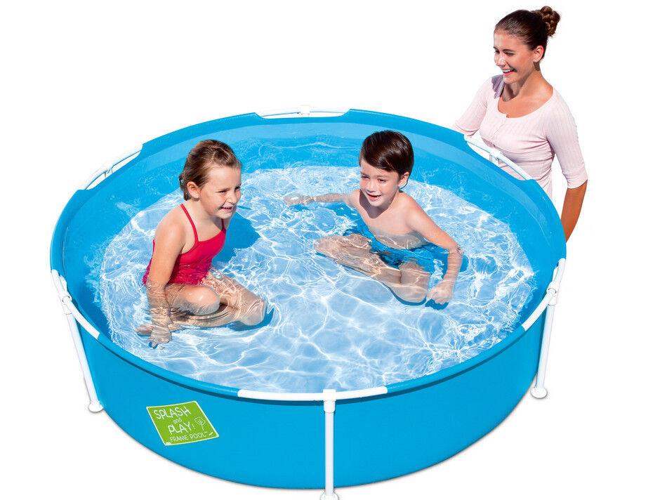 Bestway 56283 Frame Pool Stahlrahmenbecken 152 x 38 cm My first Frame Pool WOW