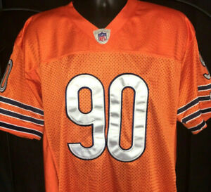 online retailer 870a1 9aba7 Details about JULIUS PEPPERS CHICAGO BEARS JERSEY North Carolina Tarheels  SEWN Stitched NFL
