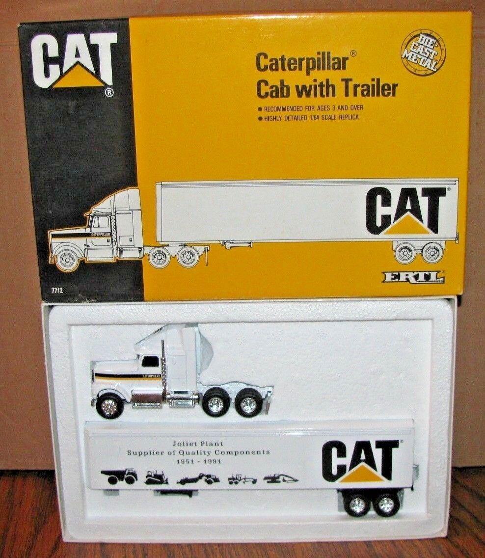 Caterpillar Cat Joliet planta ih Navistar semi camión 1/64 Ertl Juguete 2018 Crawler