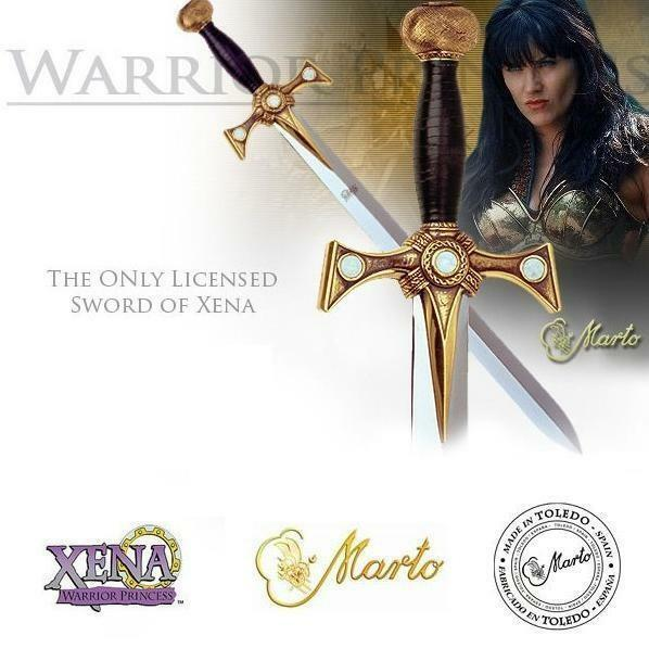 MARTO of Spain.Official Xena Warrior Princess TV and Film, Movie Sword