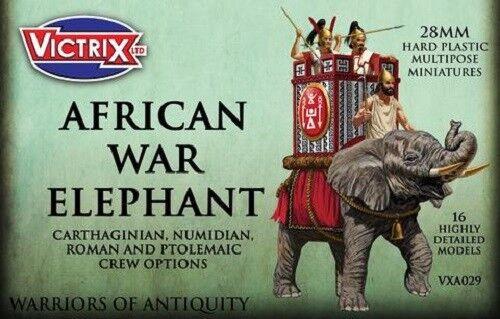 Afrikanisch War Elefant - Victrix - Gesendet Erste Klasse