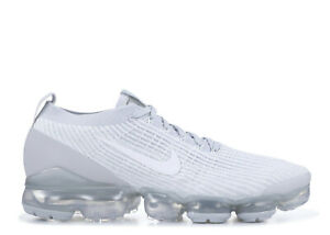 purchase cheap fdaf3 39276 Details about Nike Air Vapormax Flyknit 3 Triple White Platinum Men's  AJ6900-102 New All Sizes