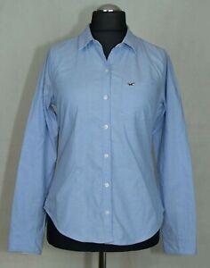 Short-femme-HOLLISTER-chemise-coton-stretch-taille-M-L-etiquette-M-excl