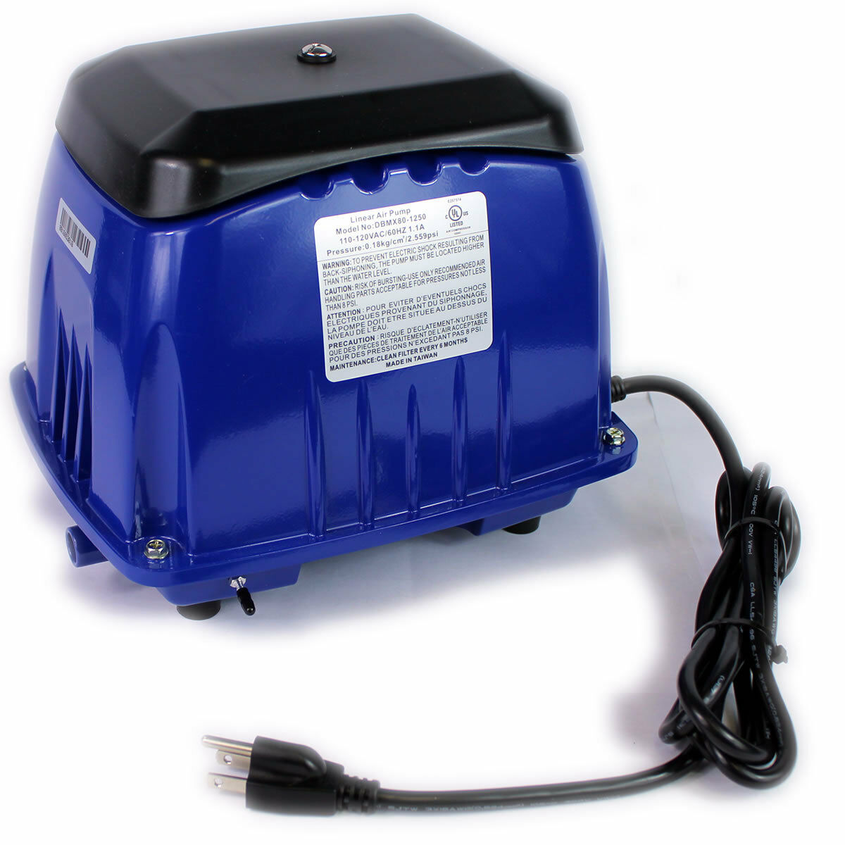 BRAND NEW DBM80 REPLACEMENT CYCLONE SS-80 SEPTIC AIR PUMP SEPTIC AERATOR